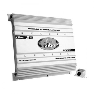 Lanzar® - Vibe Series Class A/B 2-Channel 2000W Amplifier
