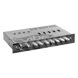 Lanzar® - 5-Band Half DIN Vibe Series In-Dash Parametric Equalizer