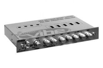 Lanzar® - Half DIN Vibe Series In-Dash 5-Band Parametric Equalizer