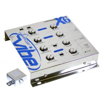 Lanzar® - Vibe Series 3-Way Electronic Crossover Network