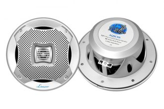 "Lanzar® - 5-1/4"" 2-Way Marine Series 400W Silver Speakers"