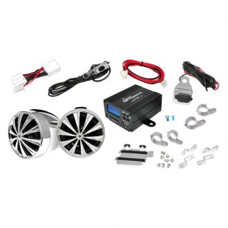 "Lanzar® - 3"" OptiDrive Series 2-Channel ATV/Motorcycle 700W Sound System with 2 Speakers"