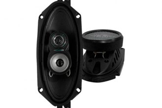 "Lanzar® - 4"" x 10"" 3-Way VX Series 180W Speakers"