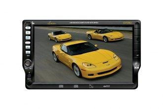 "Lanzar® - 7"" TFT Touch Screen DVD/CD/MP3/AM/FM Receiver"