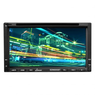 "Lanzar® - Double DIN DVD/MP4/MP3/CD Receiver with 6.95"" Touchscreen and Bluetooth"