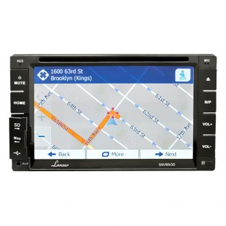 "Lanzar® - Double DIN DVD/CD/MP3/MP4/AM/FM Receiver with 6.5"" TFT Touch-Slide Screen"