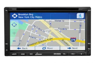 "Lanzar® - Double DIN 6.95"" Touch Screen DVD/MP4/MP3/CD Receiver with Hands-Free Bluetooth and GPS"