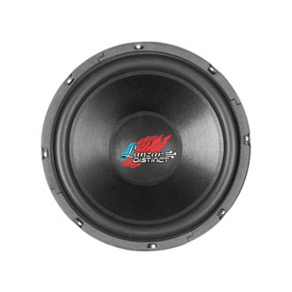 "Lanzar® - 15"" Distinct Series High Power IB Open Free-Air 4 Ohm 400W Subwoofer DVC"