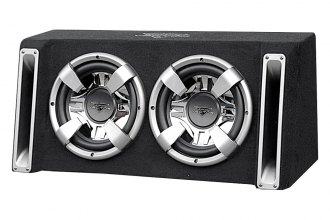 "Lanzar® - 12"" Vector Series 2400W Dual Subwoofer Enclosure"