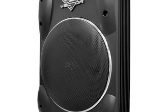 "Lanzar® - 10"" Vector Series 800W Low Profile Subwoofer"