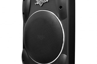 "Lanzar® - 8"" Vector Series 600W Low Profile Subwoofer"