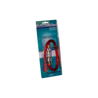 Lanzar® - Contaq 4 Gauge Power Cable and In-Line Fuse Kit