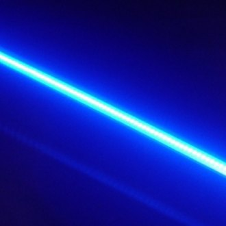 "Lazer Star® - 12"" BilletLED™ Blue Black LED Strip"