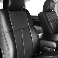 Leathercraft® - Custom Leather Seat Covers - Black