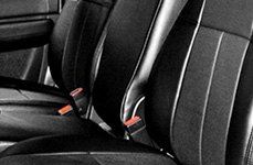 Leathercraft Black Seat Covers