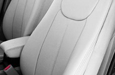 Leathercraft® Gray Leather Seat Covers