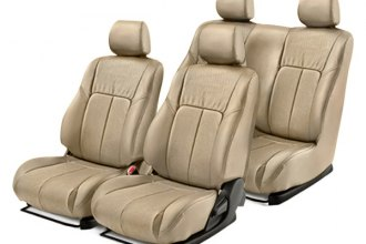 Leathercraft® - Front and Rear Tan Leather Seat Covers