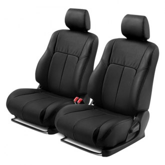 Leathercraft® - Front Black Leather Seat Covers