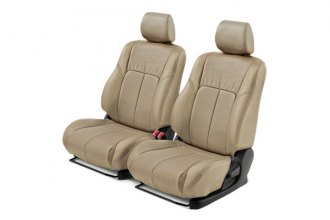 Leathercraft® - Front Tan Leather Seat Covers