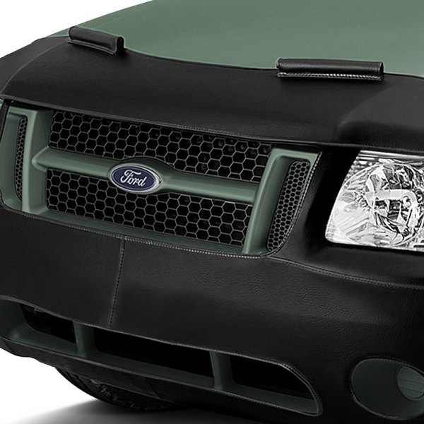 Image may not reflect your exact vehicle! LeBra® - Black Custom Front End Cover