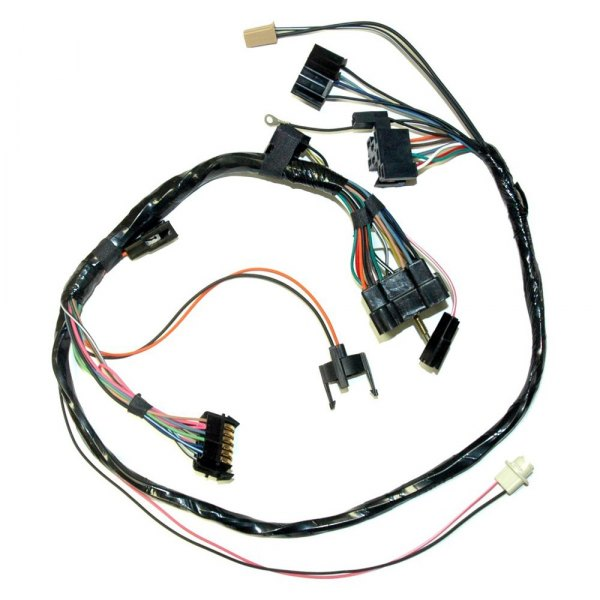 lectric limited® - chevy camaro 1972 dash instrument cluster wiring harness  carid.com