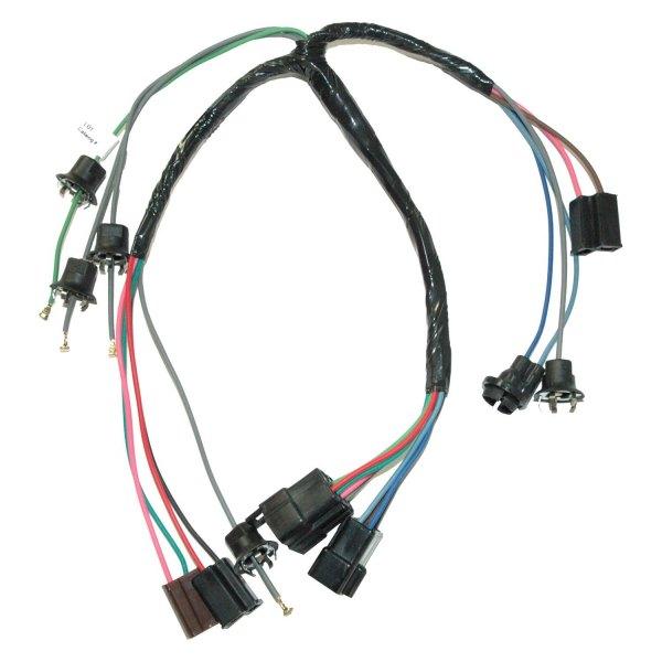 Lectric Limited® 30800 - Dash Instrument Cluster Wiring Harness on battery gauge, vacuum pump gauge, spark plug gauge, fuel pressure regulator gauge,