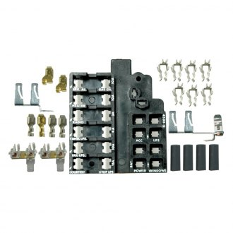 fuses and components for cars & trucks at carid com 2008 jetta fuse box diagram lectric limited® fuse block repair kit