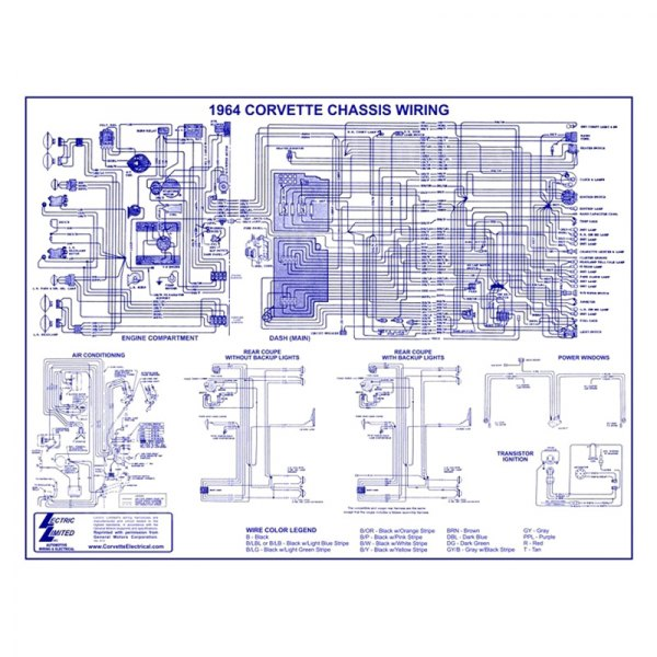 1964 corvette wiring diagram lectric limited   vwd6400 wiring diagram  lectric limited   vwd6400 wiring diagram