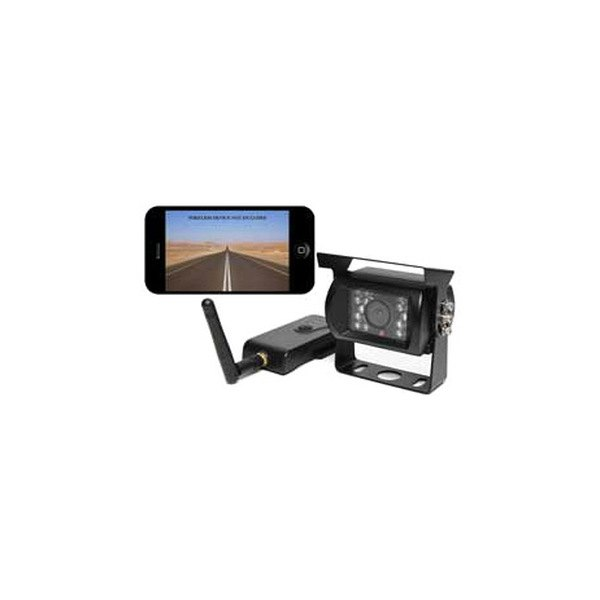 Leisure Time® - Wireless Surface Mount Rear View Camera and Receiver