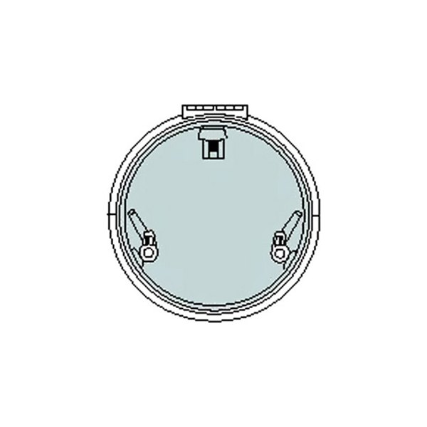 Lewmar® - #22 Round Low Profile Hatch Flange Base