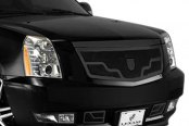 Lexani® - Venice Style Black Mesh Grille Kit with Black Frame