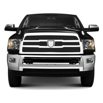 Lexani® - Zurich Style Black Mesh Grille Kit with Chrome Frame