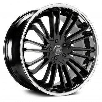 LEXANI® - VIRAGE 1PC Gloss Black with SS Chrome Lip