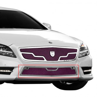 Lexani® - 1-Pc Venice Style Custom Painted Mesh Bumper Grille