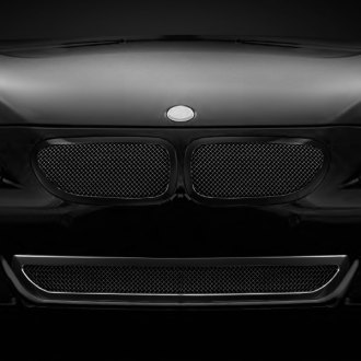 Lexani® - Classic Style Black Mesh Grille Kit with Black Frame