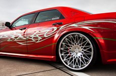 Lexani CS-Monza Standard Forging Chrome on Chrysler 300C