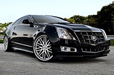 Lexani Tires on Cadillac CTS