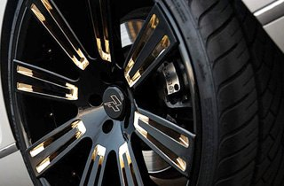 Lexani Tires on Bentley Continental