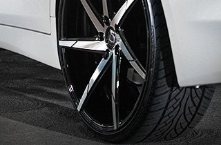 Lexani Tires on Infiniti Q50