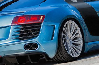 Lexani Tires on Audi R8
