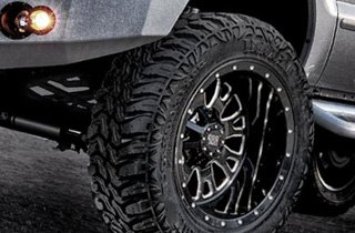 Lexani Tires on Ford 250