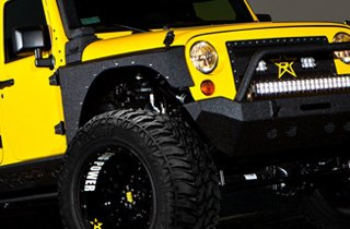 Lexani Tires on Jeep Wrangler