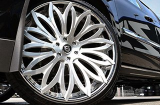 Lexani Tires on Cadillac Escalade