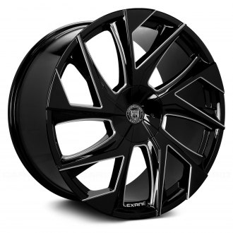 LEXANI® - GHOST 1PC Gloss Black with Machined Accents