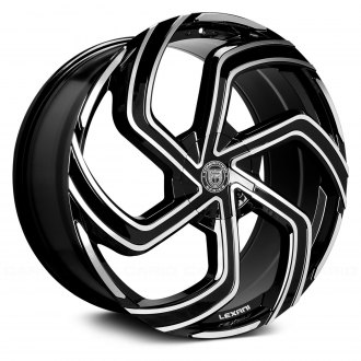 LEXANI® - SWIFT 1PC Gloss Black with Machined Face