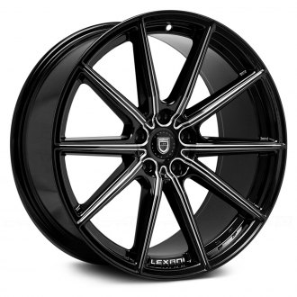 LEXANI® - CSS-10 Black with CNC Machined Grooves