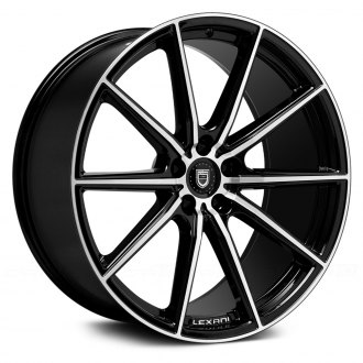 LEXANI® - CSS-10 Gloss Black with Machined Face