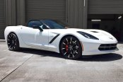 LEXANI® - CSS-15 Gloss Black with Machined Tips on Chevy Corvette Stingray