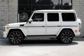 LEXANI® - CSS-15 Gloss Black with Machined Tips on Mercedes G63