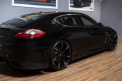 LEXANI® - CSS-7 Gloss Black with Machined Tips on Porsche Panamera